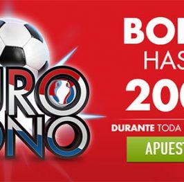 Bono especial para la Eurocopa con Sportim hasta 200?