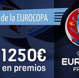 Aun puedes conseguir 1000 ptos para el juego de la #Euro2016 GRATIS