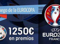 El juego de la #Euro2016 ya est? disponible con 1250? en premios y ?es GRATIS!
